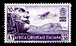 Italia-F01187a - Colonie Italiane: Africa Orientale  1938 - Sassone P.A.n. 6 (++) MNH - Privo Di Difetti Occulti - - Africa Oriental Italiana