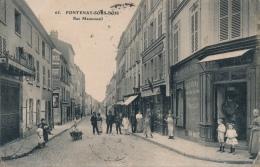 94 - FONTENAY-SOUS-BOIS - Val-de-Marne - Rue Mauconseil - Commerce Rôtisserie - Comestibles - Fontenay Sous Bois