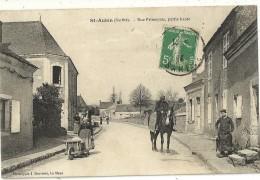 St AUBIN.  Rue Principale , Partie Haute. - Zonder Classificatie