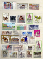 Lot Timbres Allemands - 2 Scans - Timbres