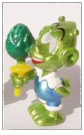 K006 / Kinder Série Astro Comic 1999 / Franklin D'oeil Support Jaune - Monoblocs