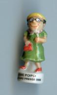 """FEVE - FEVES -   """"TOM TOM ET NANA 2001"""" - MIME POIPOI - Santons/Fèves"""
