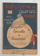 Recueil De 15 Monologues écrits Pour être Dits à L'occasion De FIANCAILLES, EPOUSAILLES Et NAISSANCES , Frais Fr :1.95€ - Poésie