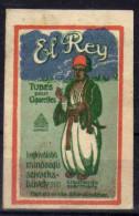Vignette Cinderella Cinderallas Afrique El Rey Tubes Pour Cigarettes - Vignettes De Fantaisie