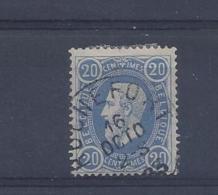 N°31 GESTEMPELD Rochefort SUPERBE - 1869-1883 Leopold II