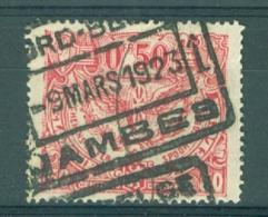 """BELGIE - OBP Nr TR 107 - Cachet  """"NORD-BELGE - JAMBES 1"""" - (ref. AD-5377) - Chemins De Fer"""