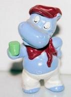 K050 / Kinder Série La Bande HIPPOS En Vacances 1995 / Hippo Relax - Monoblocs