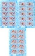 2016.  World Ice Hockey Championship, Russia´2016, 3sheetlets, Mint/**
