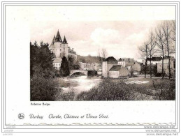 DURBUY ..-- Ourthe , Château Et Vieux Pont . - Durbuy