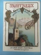 1362 - Suisse  Vaud Montreux - Etiquettes