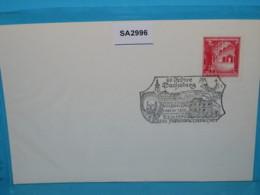 SA2996 60J Gymnasium Dachsberg Franz V Sales, 4751 Prambachkirchen AT 22.10.1980 - Machine Stamps (ATM)