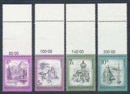 ÖSTERREICH   Mi.Nr. 1430-1433 Freimarken- Schönes Österreich- MNH - 1945-.... 2. Republik