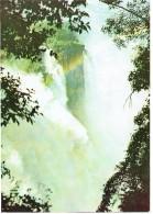 CPM ZIMBABWE DIVERS - Chutes Victoria - La Cataracte Du Diable - 1990 - Zimbabwe