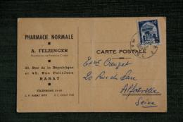 RABAT - A.FELZINGER, Pharmacie Normale, 21 Rue De La République Et 45 Rue Petit Jean. - Rabat