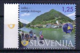 Slowenien 'Tourismus In Lasko, Rollstuhlfahrer' / Slovenia 'Tourism In Lasko, Wheelchair Users' **/MNH 2015 - Handicaps