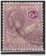Antigua 1921-1929, St. John´s Harbor, 6p, Used - Antigua & Barbuda (...-1981)