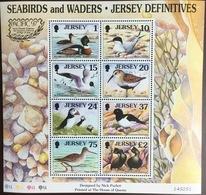 Jersey 1997 Seabirds Pacific '97 Overprint Minisheet MNH - Sin Clasificación