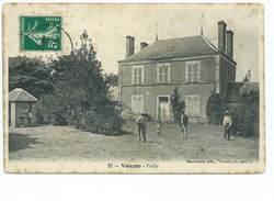 Vouzon Failly Marchand Editeur 27 Carte Animée 1912 ? - Other Municipalities