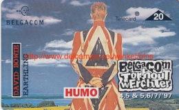 David Bowie Torhout Werchter 1997 - Muziek