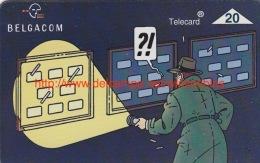 Belgacom. La Telecard S´expose. Telecard 20 Unités - Stripverhalen