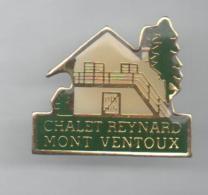 PINS PIN´S VILLE REGION VAUCLUSE PACA  CHALET REYNARD MONT VENTOUR TOUR DE FRANCE - Badges