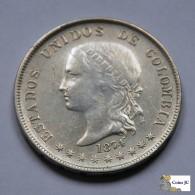 Colombia - 50 Centavos - 1874 - Kolumbien
