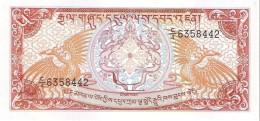 Bhutan - Pick 14b - 5 Ngultrum 1990 - Unc - Bhoutan