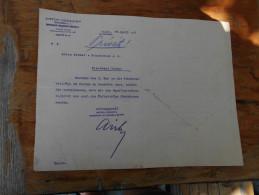 Hungary Anton Dreher Kobanya Beer 1909 - Facturas & Documentos Mercantiles