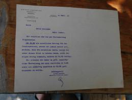 Hungary Anton Dreher Kobanya Beer 1911 - Facturas & Documentos Mercantiles