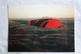 Australia Ayers Rock And Olgas At Sunrise A 111 - Uluru & The Olgas