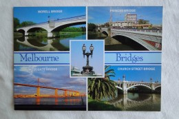 Australia Melbourne Bridges Multi View  A 111 - Melbourne