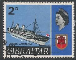 Gibraltar. 1967-69 Ships. 2d Used. SG202 - Gibraltar