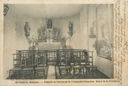 BELGIQUE  WYTSCHAETE  Pensionnat De L'immaculée Conception Chapelle 2 Scans - Belgique