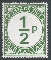 Gibraltar. 1971 Postage Due. ½p MNH. SG D4 - Gibraltar