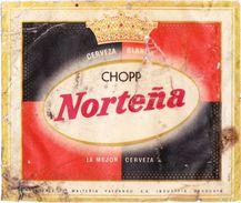 ® Etiquetas URUGUAY - NORTEÑA Vintage - Año 1971 (reliquia) - Cerveza