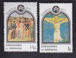 Grenadines. Pâques Tableaux. 198. 199 - Grenade (1974-...)