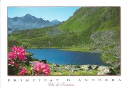 Lac De Tristaina L'été, Andorra, 2287 M, à La Frontière Française,  Carte Postale Neuve - Andorre