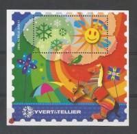 """FR Vignette Yvert / Tellier Nr 9   """" Aurélie BARAS """" - Blocs & Feuillets"""