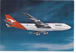 AVION BOEING 747 - 300 QANTAS - 1946-....: Moderne