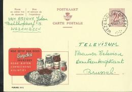 Publibel Obl. N° 1872 ( Cornichons, Rode Bieten Product LUYCKS) Obl: Wezembeek-Oppem 14/11/1963 - Werbepostkarten