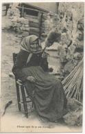 Corse. Fileuse Agée De 97 Ans. Collection Moretti. - France