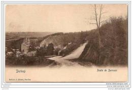 DURBUY ..-- Route De BARVAUX . 1912 Vers OTTIGNIES ( Mme J. THOMEE , Gendarmerie Céroux - Mousty ) . Voir Verso . - Durbuy