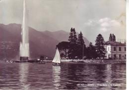 Como - Lago, Villa Geno E La Fontana, Viaggiata 1954 - Como