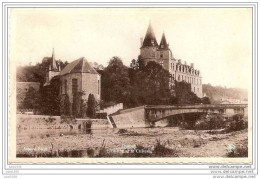 DURBUY ..-- L´Ourthe Et Le Château . Vers SCHAERBEEK . Voir Verso . - Durbuy