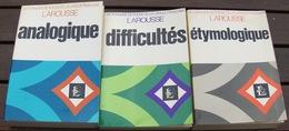 Lot 3 Dictionnaires Larousse - Dizionari