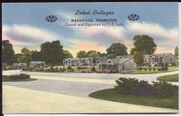 NASHVILLE (USA - Tennessee) - CP - Lake's Cottages On U.S. Hi-way 41 And 70 S - Nashville