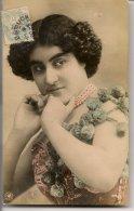 L25C093 -  Portrait De Femme Rêveuse  -  NPG N°496/9 - Mujeres