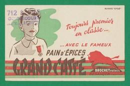 Publicite - Buvard - GRAND CASSE - Brochet Freres - Buvards, Protège-cahiers Illustrés