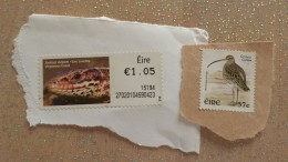 Eire Ireland Reptile Snake Bird Unused Stamps (new Ungummed) Mint Without Gum MH * Not Used - Irlanda