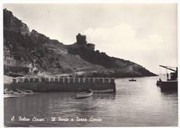 San Felice . Circeo - Il Porto E Torre Cervia - H1799 - Latina